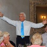 After dinner speaker and entertainer Brother Don Maclean in 'full flow'.