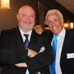 Circle President Kevin Doherty and Don Maclean